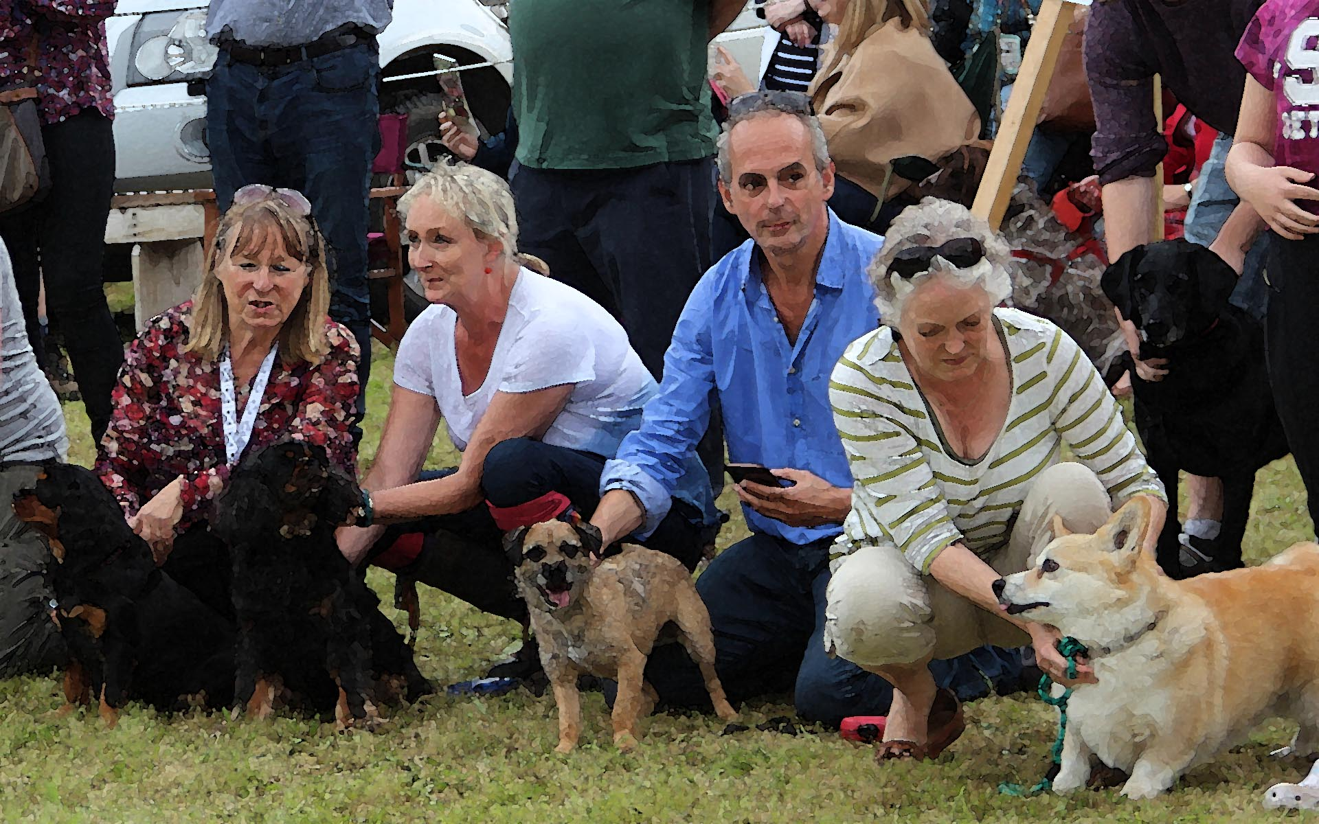 Dog Show and Race
