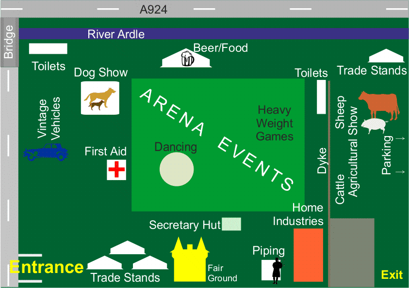 Bannerfield Layout